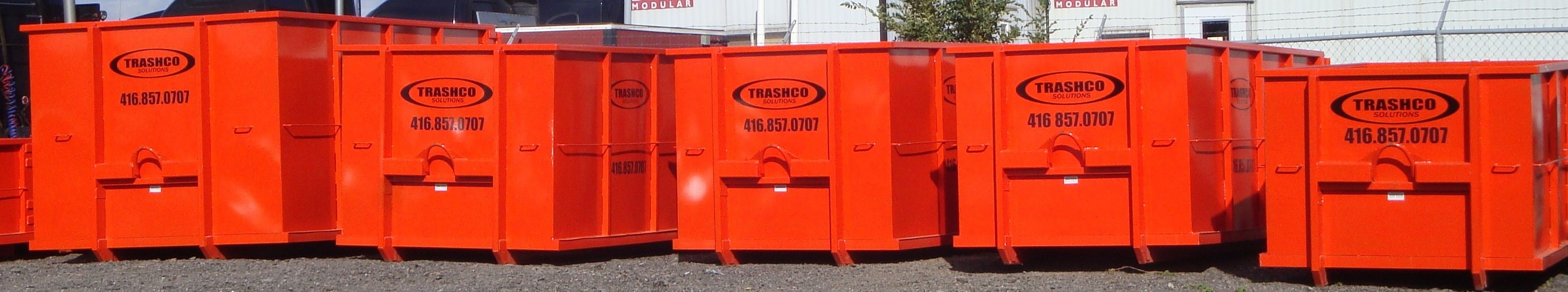 trashco offers different size mini bins